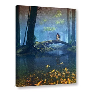 ArtWall Cynthia Decker 'Lantern Bearer' Gallery-wrapped Canvas