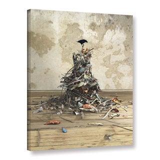 ArtWall Cynthia Decker 'Networth' Gallery-wrapped Canvas