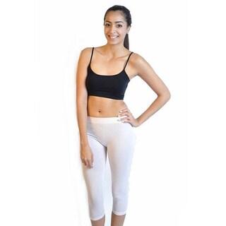 Soho Ladies Junior Capri Length Leggings