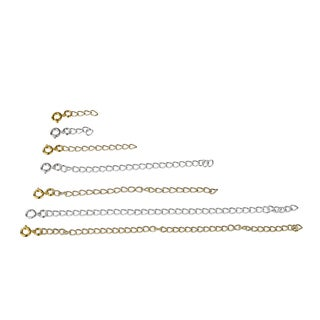 Jewelry Necklace Extender Deluxe Gift Set
