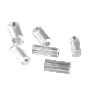 Hypoallergenic Clear Plastic Ring Size Reducers
