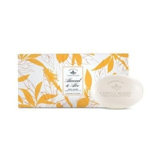 Caswell-Massey Almond & Aloe Bar 3-piece Soap Set