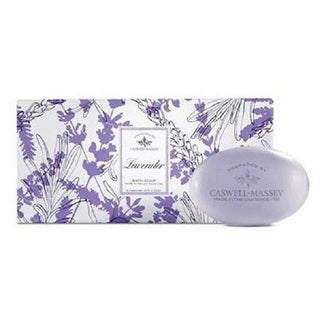 Caswell Massey Lavendar Bar 3-piece Soap Set