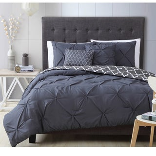 Avondale Manor Madrid 5-piece Queen Size Comforter Set in Charcoal (As Is Item)