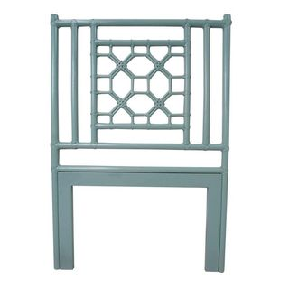 Mia Sky Blue Twin Headboard