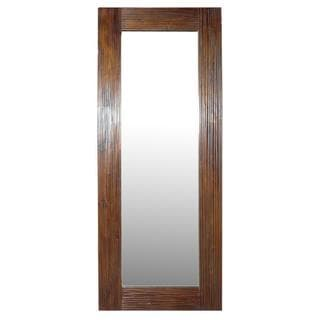 Mozgov Teakwood Floor Mirror