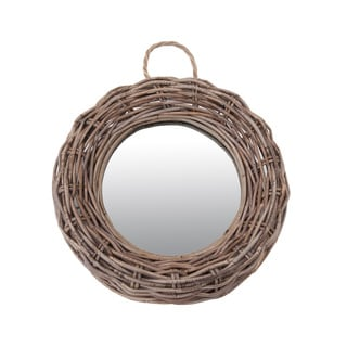 James Rattan Round Mirror- Small