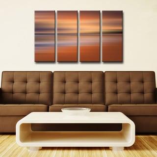 Ready2HangArt 'Blur Stripes XLIV' 4-PC Canvas Wall Art Set
