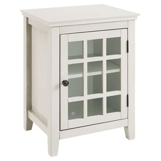 Copper Grove Leova White Accent Table