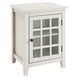 Linon Galway Accent Table - White