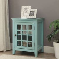 Havenside Home  Turquoise Accent Table