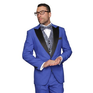 Men's Royal Natalie Wool 3-piece Statement Tuxedo Suit
