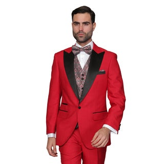 Statement Men's Natalie Red Tuxedo Suit