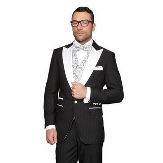 Natalie Black Men's Statement Suit Tuxedo