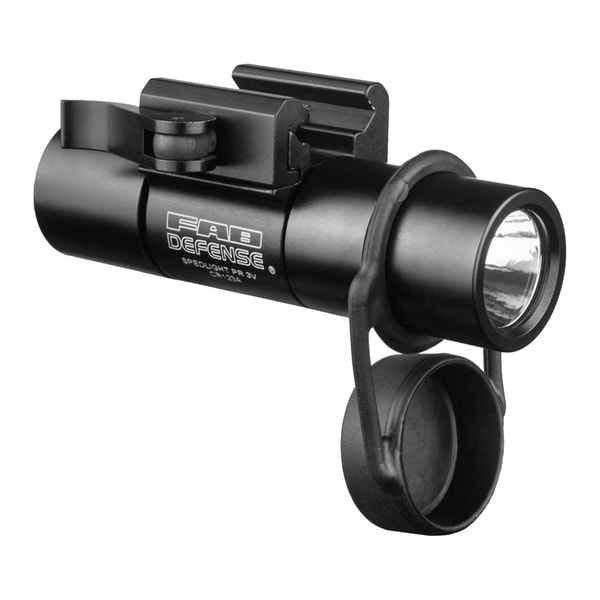 "FAB Defense 100 Lumen LED 1"" Flashlight with Picatinny Mount"