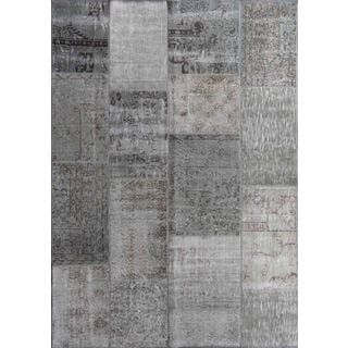 ABC Accent Vintage Turkish Overdyed Patchwork Atmosphere Rug (6' x 9')