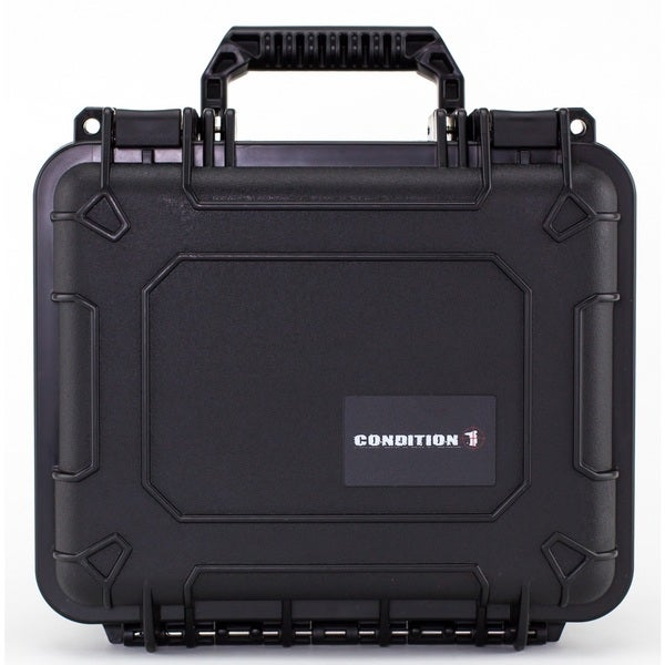 Condition 1 11-inch Small #185 Airtight/ Watertight Protective Case with DIY Customizable Foam