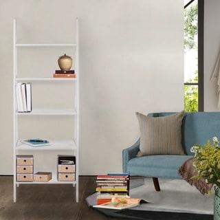 5 Shelf Ladder Bookcase Part 85