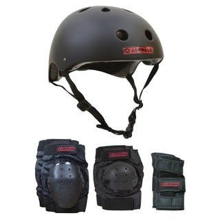 Airwalk 4-in-1 Helmet/Pad Combo - X/Small