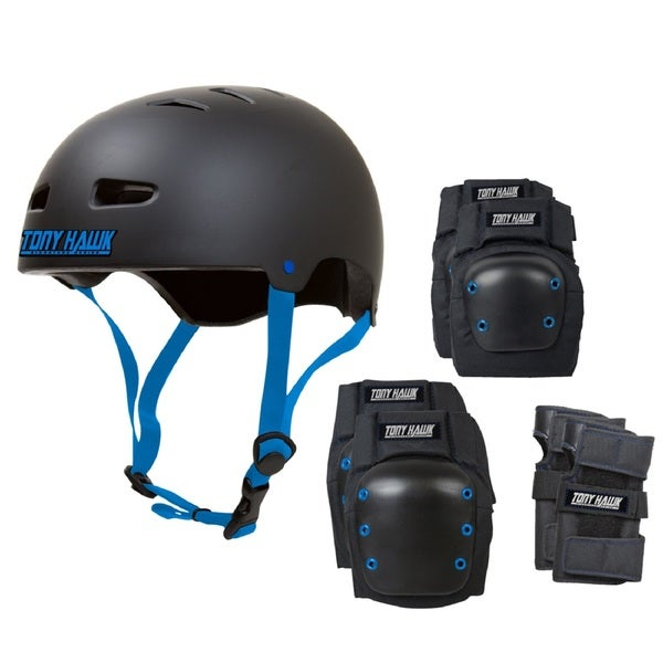 Tony Hawk Helmet/Pad Combo -One Size Fits Most