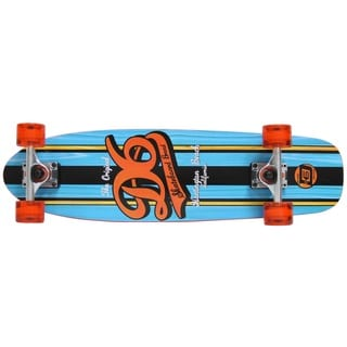 D6 EZ Series 28.5-inch Cruiser Skateboard Script Blue