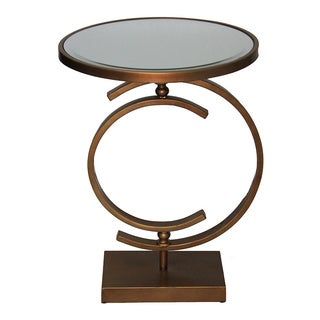 Casa Cortes Helene Mirrored Accent End Table