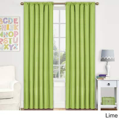 Green 54 Inches Curtains D