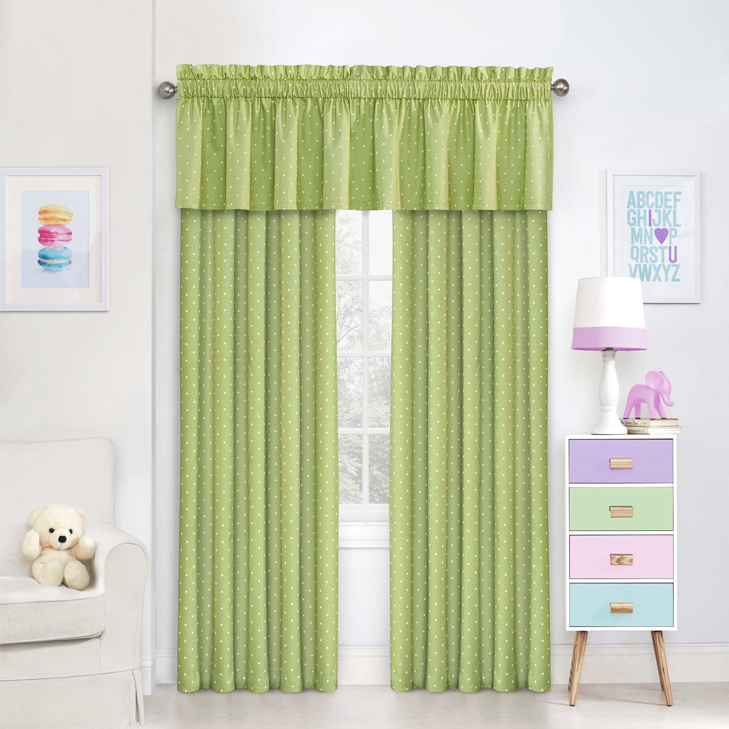 Grey Eclipse Kids 15939042X084GRE Peanut Pals 42-Inch by 84-Inch Single Window Curtain Panel
