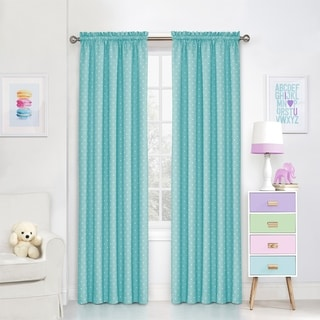 Kids Polka Dots Blackout Curtain Panel