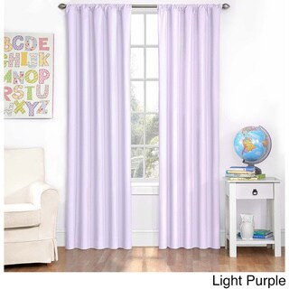 Link to Eclipse Kids Microfiber Blackout Single Curtain Panel Similar Items in Curtains & Drapes
