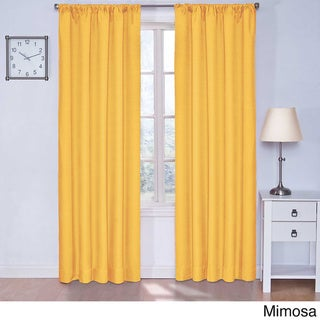 Kids Microfiber Blackout Curtain Panel
