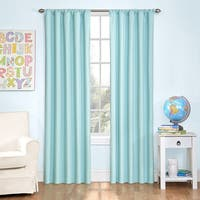 Eclipse Kids Microfiber Blackout Single Curtain Panel