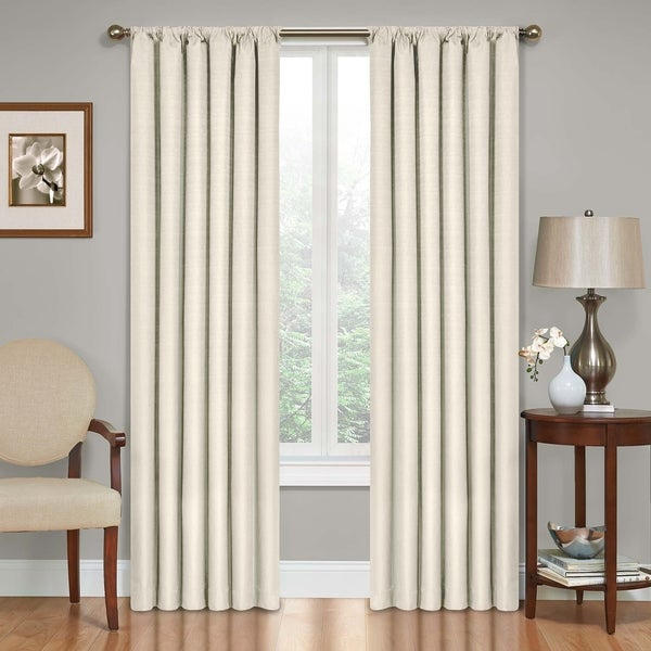 Shop Eclipse Kendall Blackout Window Curtain Panel Free