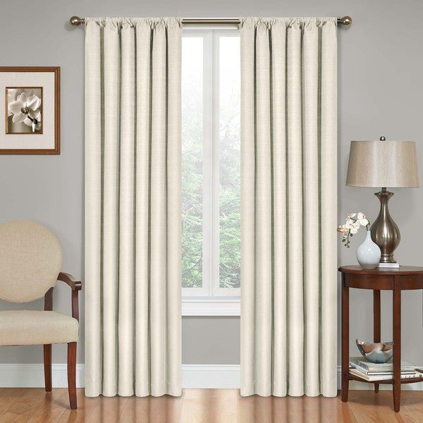 5 Panel Window : Eclipse kendall blackout window curtain panel free