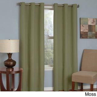Microfiber Grommet Blackout Curtain Panel