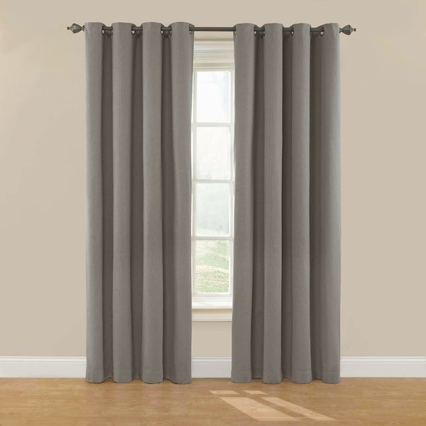 Eclipse Nadya Solid Blackout Window Curtain Panel