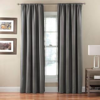Corsica Crushed Microfiber Blackout Curtain Panel