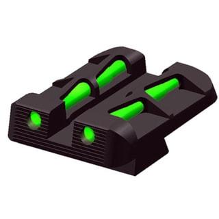 Hi-Viz Glock Rear Sight for 9mm 40 and 357 Sig