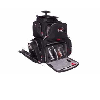 G.P.S. Rolling 'Handgunner' Backpack Black