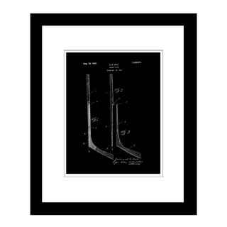 Prestige Art Studios Hockey Stick Framed Print