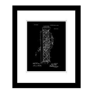Prestige Art Studios Flying Machine The Wright Brothers Framed Print