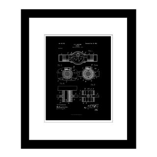 Prestige Art Studios Car Engine 1902 Framed Print