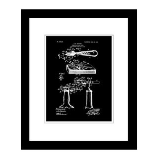 Prestige Art Studios Beer and Wine Opener Framed Print