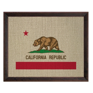 Prestige Art Studios California Framed Print