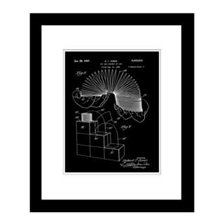 Prestige Art Studios Slinky Framed Print