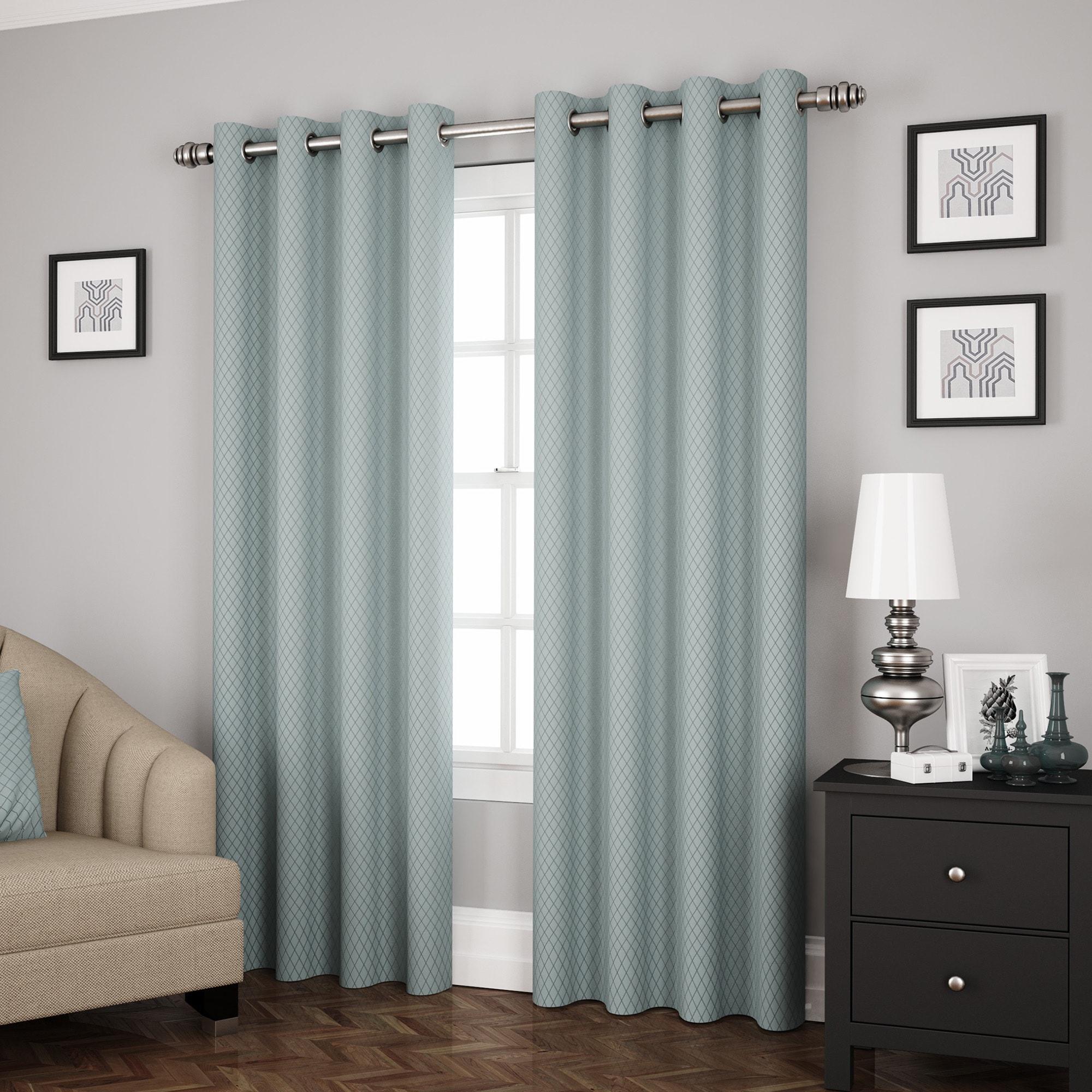 Eclipse Ridley Room Darkening Window Curtain Panel (As Is...