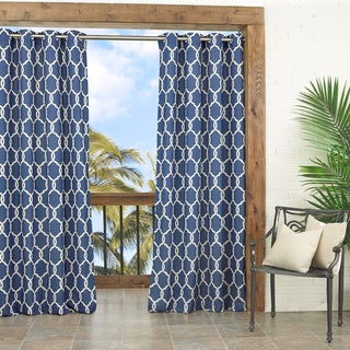 Totten Key Trellis Indoor/Outdoor Curtain Panel