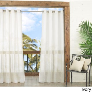 Parasol Summerland Key Sheer indoor/outdoor curtain panel (4 options available)