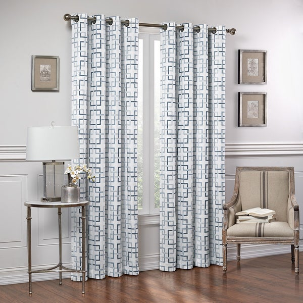 marley trellis curtain panel - free shipping on orders over $45