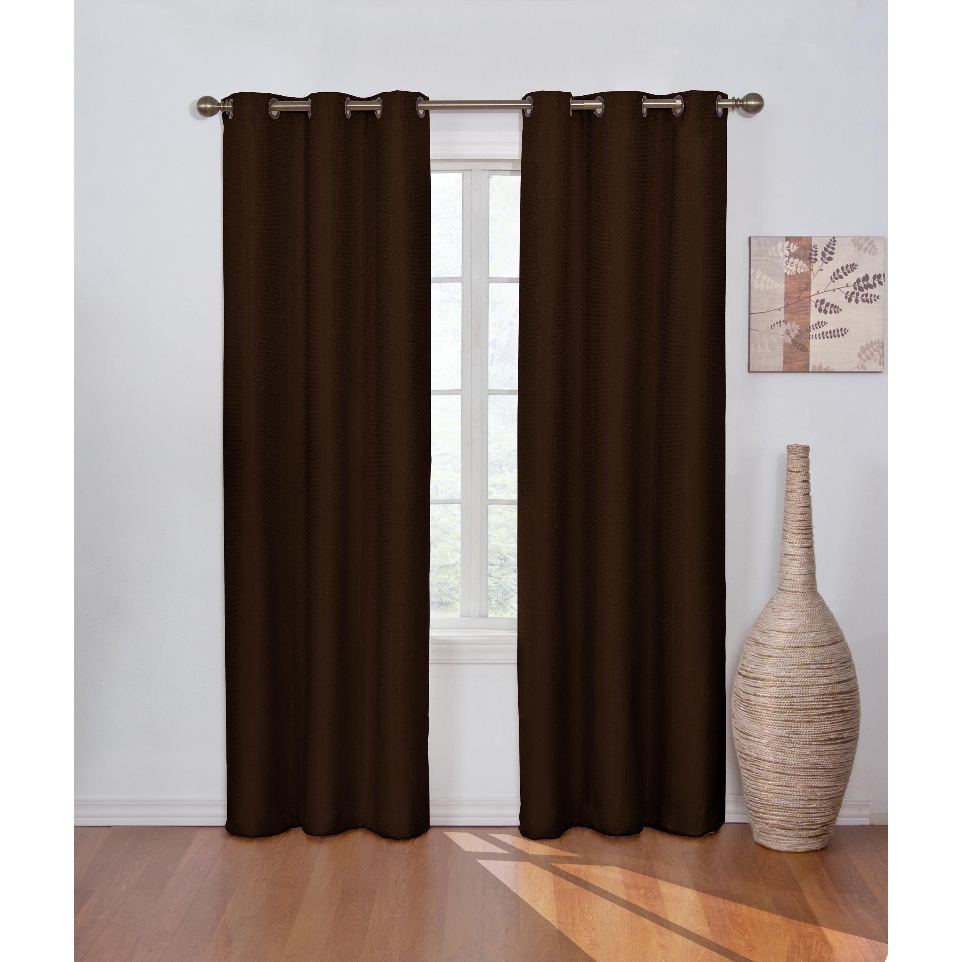 Eclipse Madison Blackout Window Curtain Panel (42X95 - Ch...